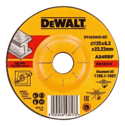 Шлифовальный диск по металлу для угловых шлифмашин DeWALT DT42320Z-QZ