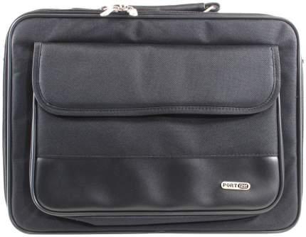 """Сумка для ноутбука 15.6"""" PortCase KCB-01 черная"""