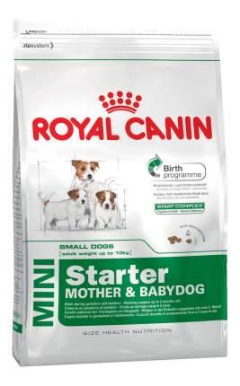 Сухой корм для щенков ROYAL CANIN Mini Starter Mother & Babydog, птица, 8.5кг