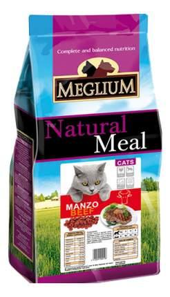 Сухой корм для кошек Meglium Adult, говядина, 3кг