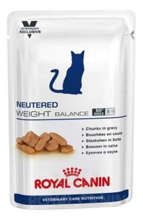 Влажный корм для кошек ROYAL CANIN Neutered Weight Balance, домашняя птица, 100г