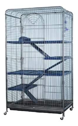 Клетка для шиншилл KREDO 139.5х52х79см выдвижной лоток для отходов, на колесах