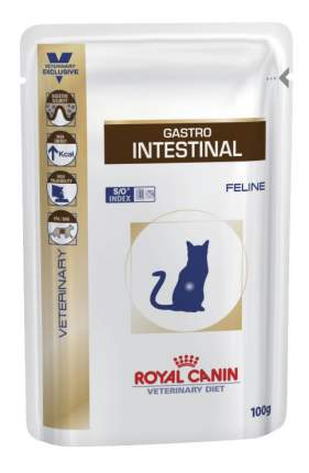 Влажный корм для кошек ROYAL CANIN Vet Diet Gastro Intestinal, свинина, 12шт, 100г