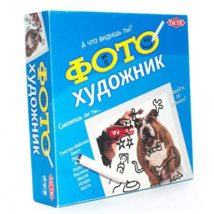 Настольная игра Tactic Games Фото-художник (40534)