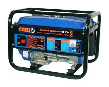Бензиновый генератор Спец SB-2700 синий СПЕЦ-SB-2700