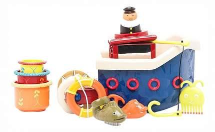 Кораблик B,Dot с игрушками для ванны