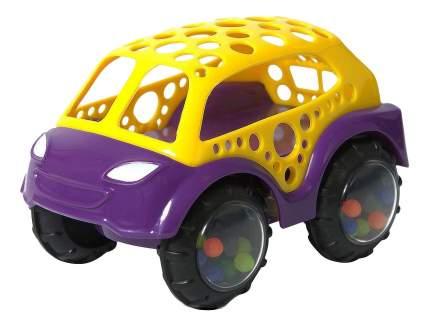 Машинка пластиковая Baby Trend Желто-фиолетовая