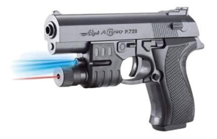 Механический Пистолет с Фонарем Shantou Gepai, 17 см