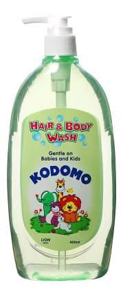 Гель для купания детский Kodomo Средство Д/мытья От Макушки До Пяточек С Дозатором, 400 Мл