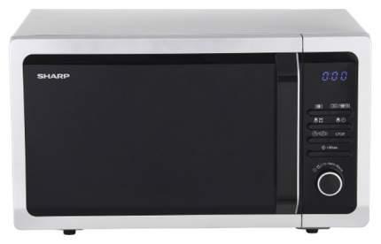 Микроволновая печь с грилем Sharp R-7852RSL silver