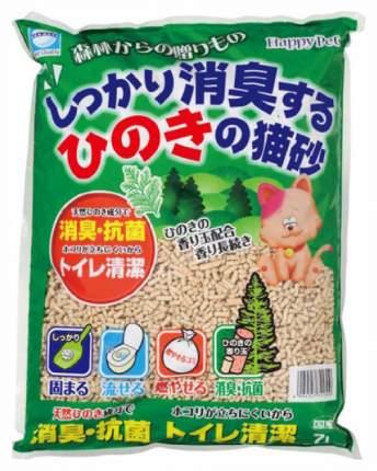 Наполнитель для кошачьего туалета Japan Premium Pet, ультра комкующийся, ель, 7л
