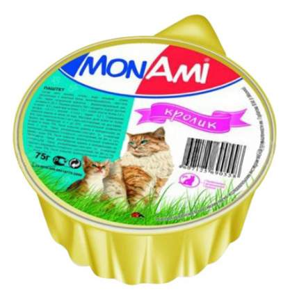 Консервы для котят MonAmi, кролик, 75г