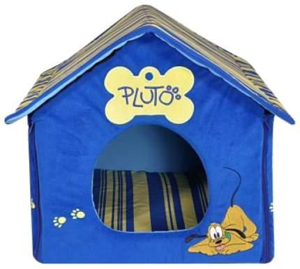 Домик для кошек Triol Pluto синий 50х40х40 см