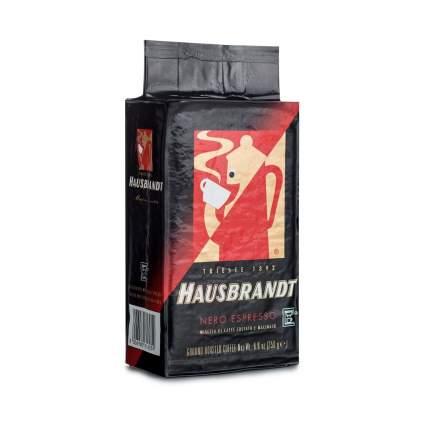 Кофе молотый Hausbrandt неро мока 250 г