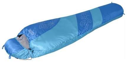 Спальный мешок Nova Tour Сахалин V2 голубой/синий, правый