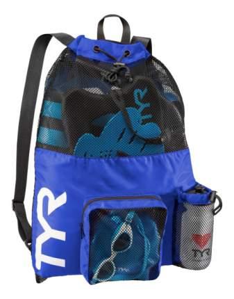 Рюкзак-сетка TYR Big Mesh Mummy LBMMB3 синий/черный (428 Royal)