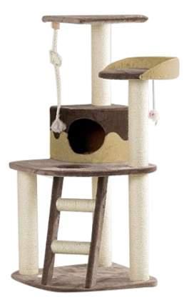 Комплекс для кошек Beeztees Smarty с 3-мя полками, лестницей и канатом 242147002