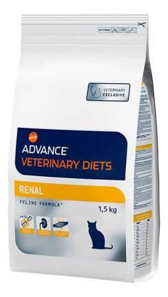 Сухой корм для кошек Advance Veterinary Diets Renal, при патологии почек, мясо, 1,5кг