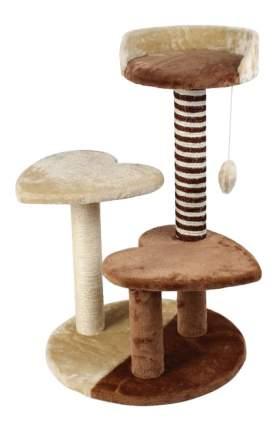 Комплекс для кошек Triol 3ур. 77см 44см