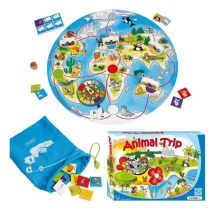 Семейная настольная игра Beleduc Путешествие животных