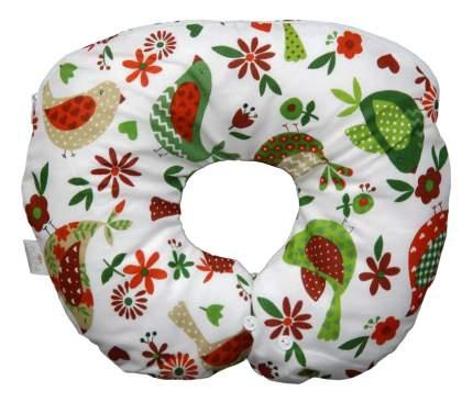 Подушка детская Polini Кантри воротник зеленый