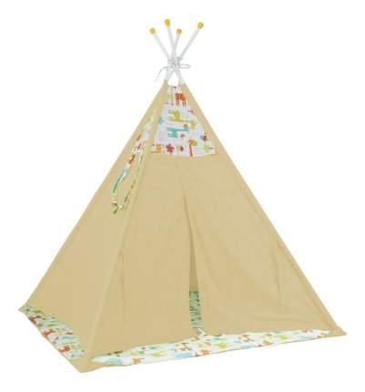Игровая палатка Polini Жираф, желтый