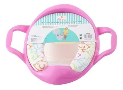 Сиденье на унитаз детское Baby Care Розовое