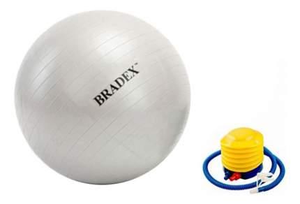 Гимнастический мяч Bradex Фитбол-65 с насосом серебристый 65 см
