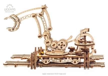 Сборная модель конструктор UGEARS Манипулятор на рельсах