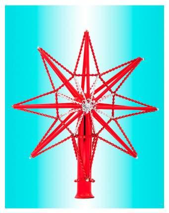 Верхушка для ели Елочка Звезда Красный C1537