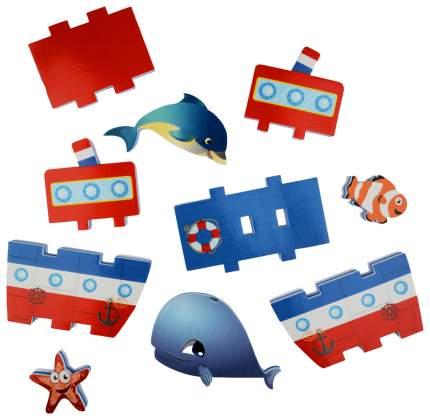 Игровой набор Barney & Buddy Построй пароходик