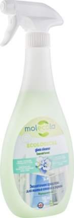 Средство для мытья стекол и зеркал экологичное Molecola изумрудный лес 500 мл