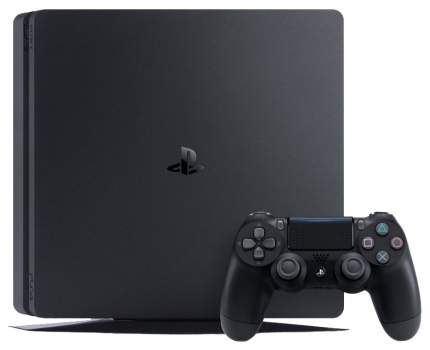 Игровая приставка Sony PlayStation 4 Slim 500Gb Black + HZD+GOW3+UC4+PSPlus на 3 месяца