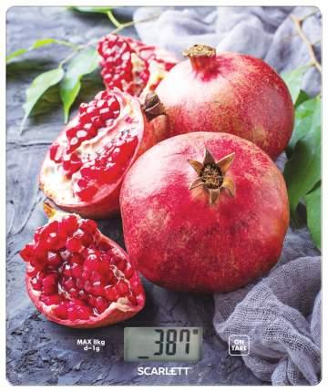 Весы кухонные Scarlett SC-KS57P30 Red