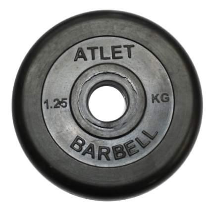 Диск для штанги MB Barbell Atlet 1,25 кг, 26 мм
