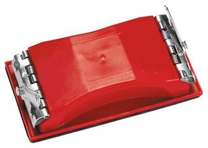 Колодка для ручного шлифования MATRIX 210 х 105 мм пластиковая с зажимами