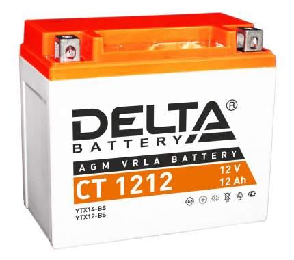 Аккумулятор автомобильный Delta CT 1212 12 Ач
