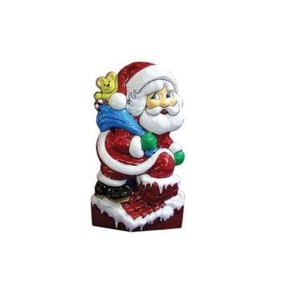 """Панно """"Дед Мороз на крыше"""", 52*19см Е3188"""