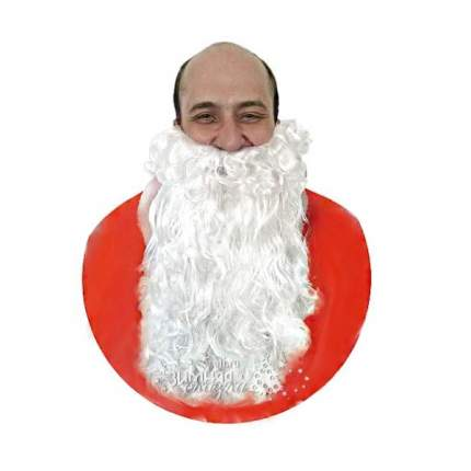 Парик и борода Деда Мороза-Люкс YH-806