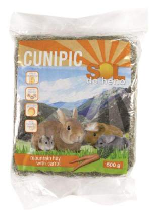 Сено для грызунов Cunipic SOL с морковью 0.5 кг 1 шт
