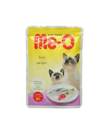 Влажный корм для кошек Me-O Adult, тунец в желе, 80г
