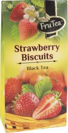 Чай черный Fru Tea srawberry bisquits 50 г