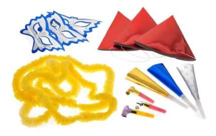 Snowmen Карнавальный набор с колпаками масками и дудками Snowmen Е91413