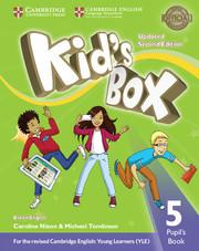 Kid's Box Upd 2Ed 5 PB