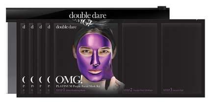 Маска для лица Double Dare OMG! Глубокое увлажнение и релакс 5 шт