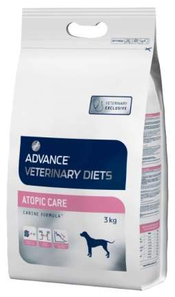 Сухой корм для собак Advance Vetirenary Diets Atopic Care, рыба, 3кг