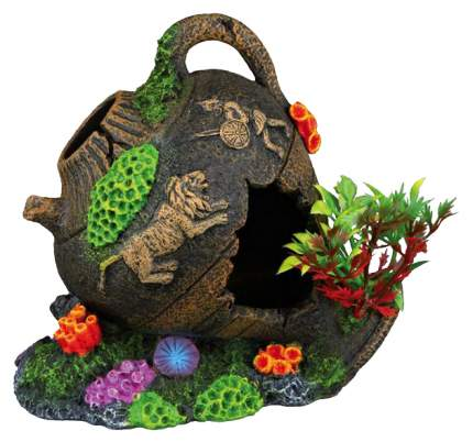 Грот для аквариума TRIXIE Pot Кувшин, полиэфирная смола, 8,5х12,5х11,5 см