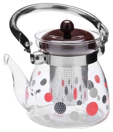 Заварочный чайник Mayer&Boch MB-26968 Прозрачный, серебристый, коричневый