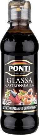 Топпинг glassa Ponti на основе бальзамического уксуса Модены 250 мл