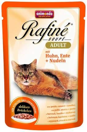 Влажный корм для кошек Animonda Rafine Soupe Adult, курица, утка, 100г